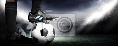 Canvastavlor Fotboll