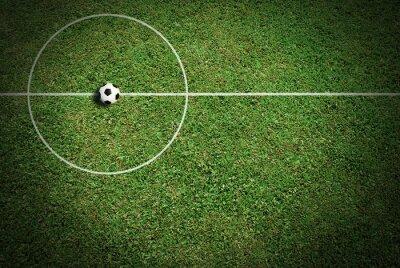 Canvastavlor Fotboll bollen fotboll sport