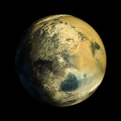 Canvastavlor Främmande Exo Planet