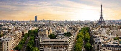 Canvastavlor Frankrike - Paris