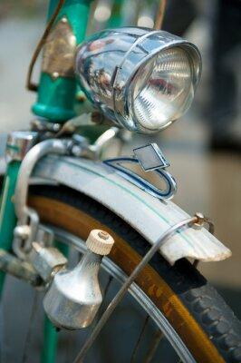 Canvastavlor Gamla retro cykel