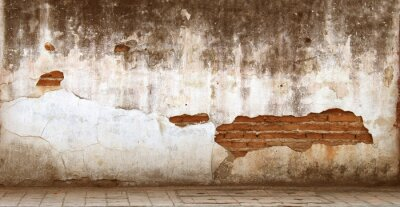 Canvastavlor gamla väggar