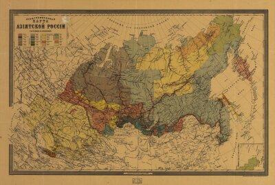 Canvastavlor gammal karta