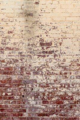 Canvastavlor Gammal tegelvägg i en bakgrund