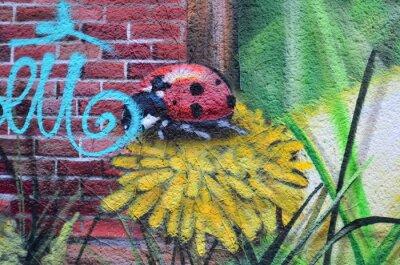 Canvastavlor Gatukonst dans les rues de Berlin