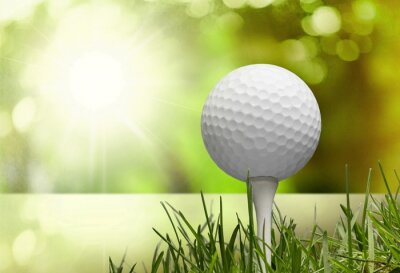 Canvastavlor Golf.