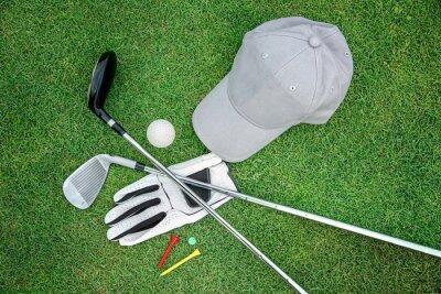 Canvastavlor golf bacground