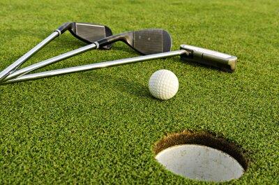Canvastavlor golf förare