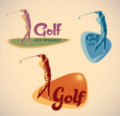 Canvastavlor golfetiketter