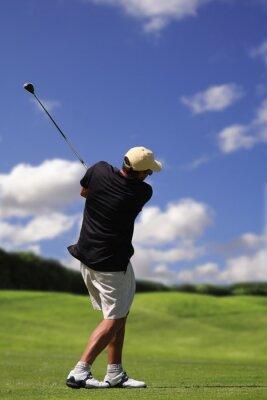 Canvastavlor golfspelare