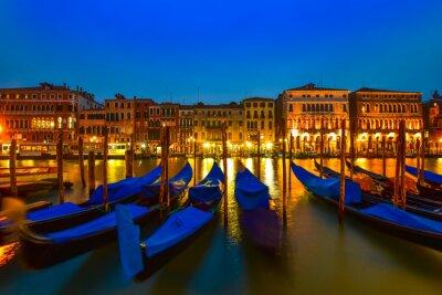 Canvastavlor Gondol på Canal Grande, Venedig, Italien