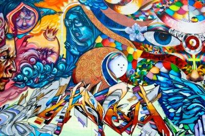 Canvastavlor graffiti
