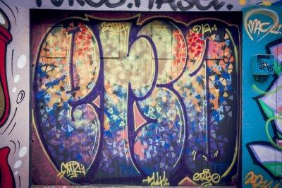 Canvastavlor Graffiti couleurs pétantes