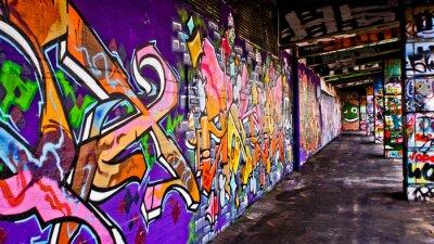 Canvastavlor Graffiti Gäng