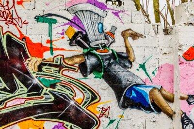 Canvastavlor Graffiti gatukonst