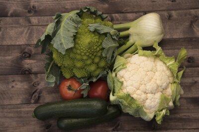 Canvastavlor Grönsaker