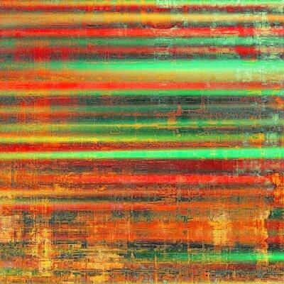 Canvastavlor Grunge färgrik bakgrund. Med olika färgmönster: gul (beige); röd (orange); grön; svart