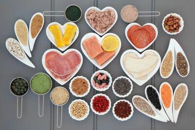 Canvastavlor Hälsa och dietmat