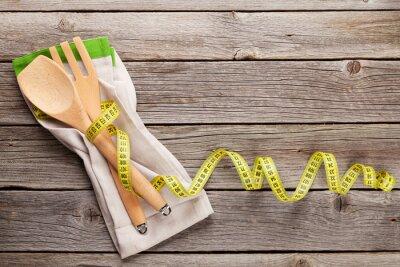 Canvastavlor Hälsosam mat koncept