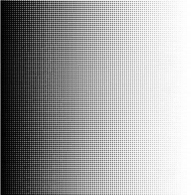 Canvastavlor Halvtonspunkter lutning i formatet vektor