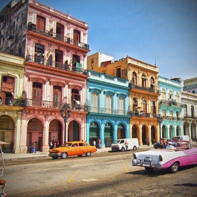 Canvastavlor Havanna, Kuba