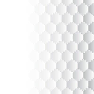 Canvastavlor hexagonal mosaik