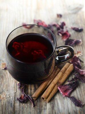 Canvastavlor Hibiscus Tea