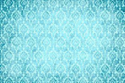 Canvastavlor hintergrund - blaue Pracht