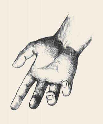 Canvastavlor Hjälpande hand