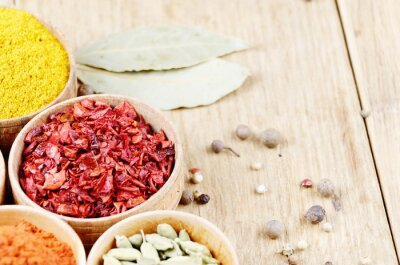 Canvastavlor indiska kryddor