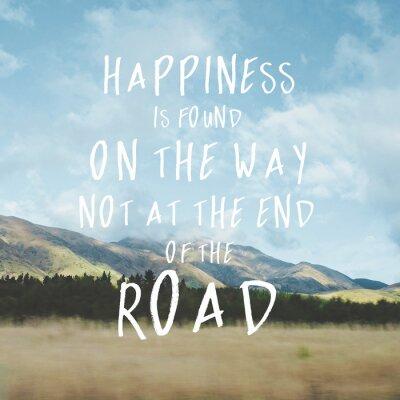 Canvastavlor Inspirational motivational quote