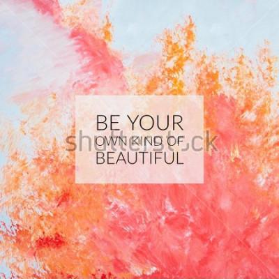 Canvastavlor Inspirationer motivation citat om livet