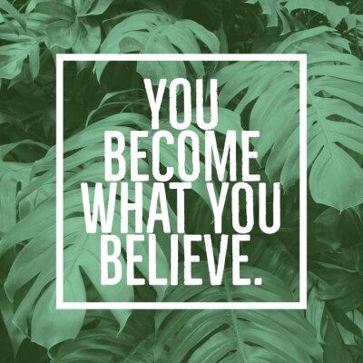 Canvastavlor Inspirerande motivational citat
