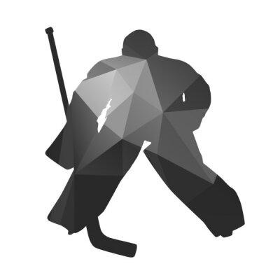 Canvastavlor Ishockey målvakt