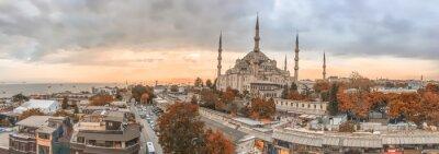 Canvastavlor Istanbul - Stad Panoramahorisont