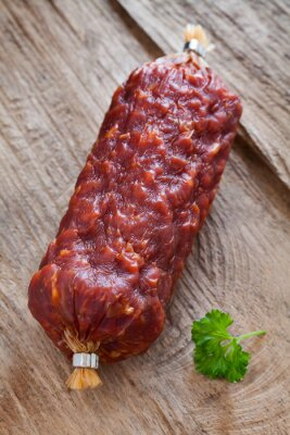 Canvastavlor italienische salami