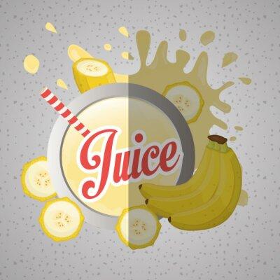 Canvastavlor Juice ikonen design