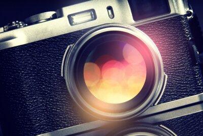 Canvastavlor Kamera