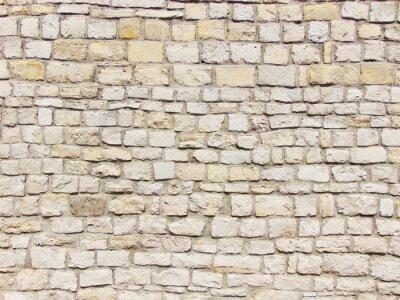 Canvastavlor Kamienny mur