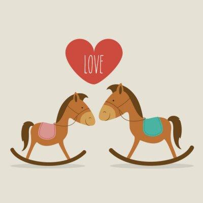 Canvastavlor kärlek