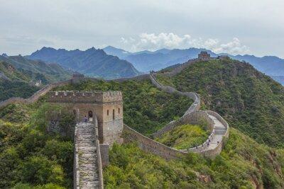Canvastavlor Kinesiska muren Jinshanling