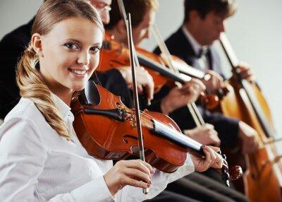 Canvastavlor Klassisk musik