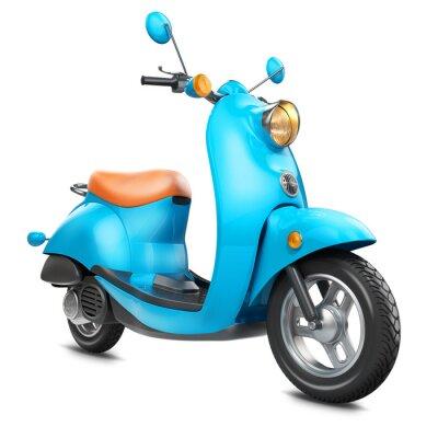Canvastavlor Klassisk retro scooter