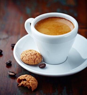 Canvastavlor Kopp espresso