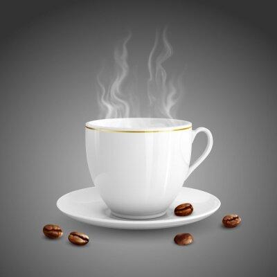 Canvastavlor kopp kaffe