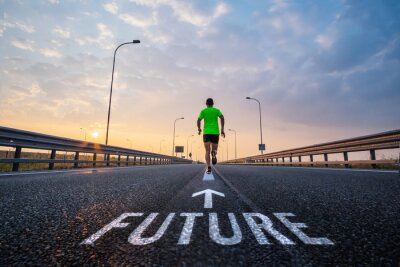 Canvastavlor Köra i framtiden