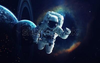 Canvastavlor Kosmisk konst, science fiction tapeter. Skönhet i djupa rymden. Miljarder galaxer i universum. Delar av denna bild från NASA
