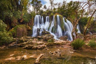 Canvastavlor Kravice vattenfall i Bosnien och Hercegovina