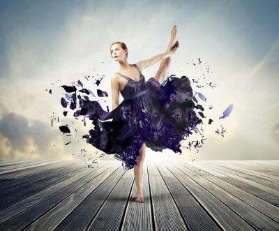 Canvastavlor kreativa balett