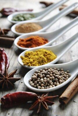 Canvastavlor Kryddor